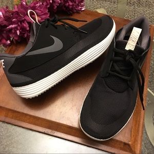 Nike solar soft sneakers worn once
